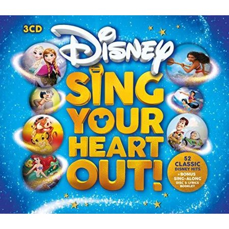 Fisher Price Halloween Sing Along Cd (Disney Sing Your Heart Out / Various)