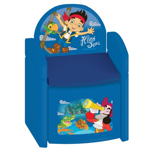 Kids Only Jake and The Never Land Pirates Sit N Store Kids Novelty Chair
