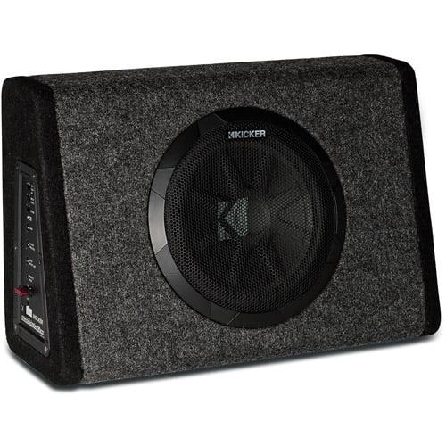 Kicker Pt250 10quot Subwoofer With Builtin 100w Amplifier Walmartcom