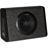 """Kicker PT250 10"""" Subwoofer with Built-In 100W Amplifier"""