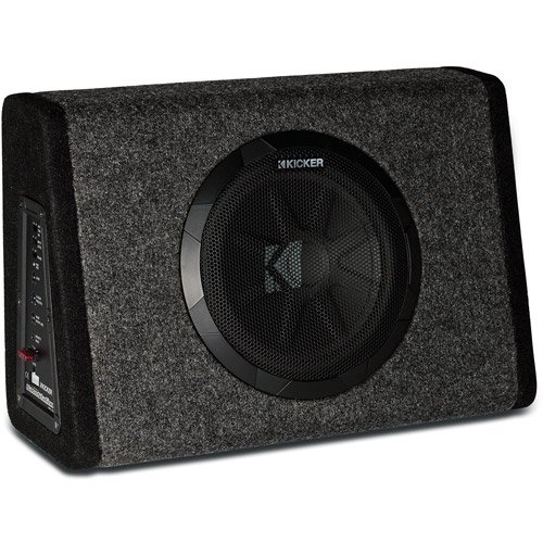 Kicker pt250 10 subwoofer with built in 100w amplifier walmart keyboard keysfo