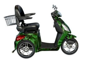 EMS-48 Adult Electric Mobility Scooter in camouflage, Cozytrike by