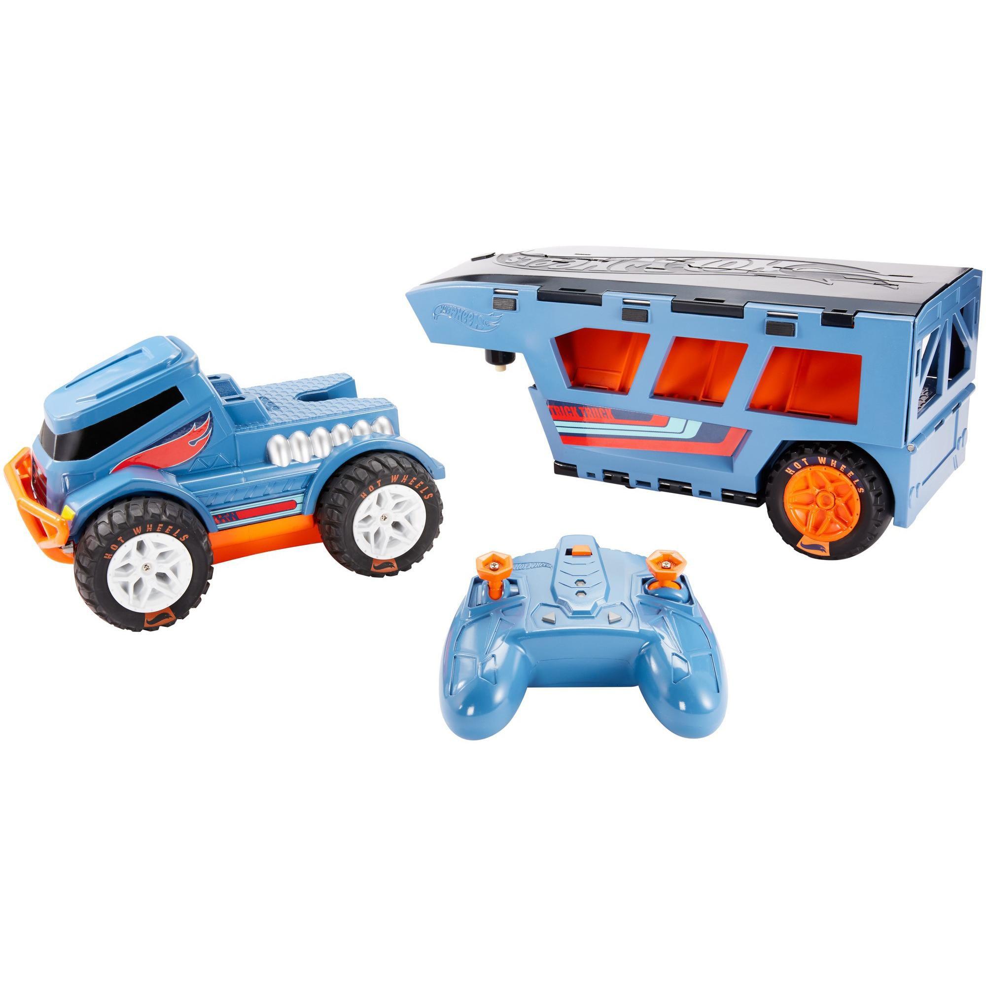 Hot Wheels R C Trick Truck Transforming Stunt Park Vehicle by Mattel