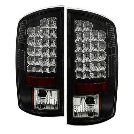 1500 Spyder Tail Light (Spyder Dodge Ram 07-08 1500 / Ram 07-09 2500/3500 LED Tail Lights - Black)