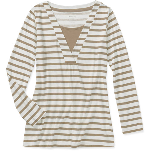 White Stag Women's Long Sleeve Striped Tunic