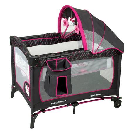 Baby Trend Nursery Center Playard Hello Kitty Walmart Com