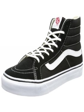 abf8489fd0a Product Image Vans Unisex Sk8-Hi Slim Black True White Skate Shoe 8.5 Men  US