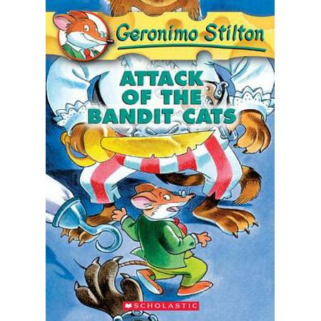 Geronimo Stilton #8: Attack of the Bandit Cats -