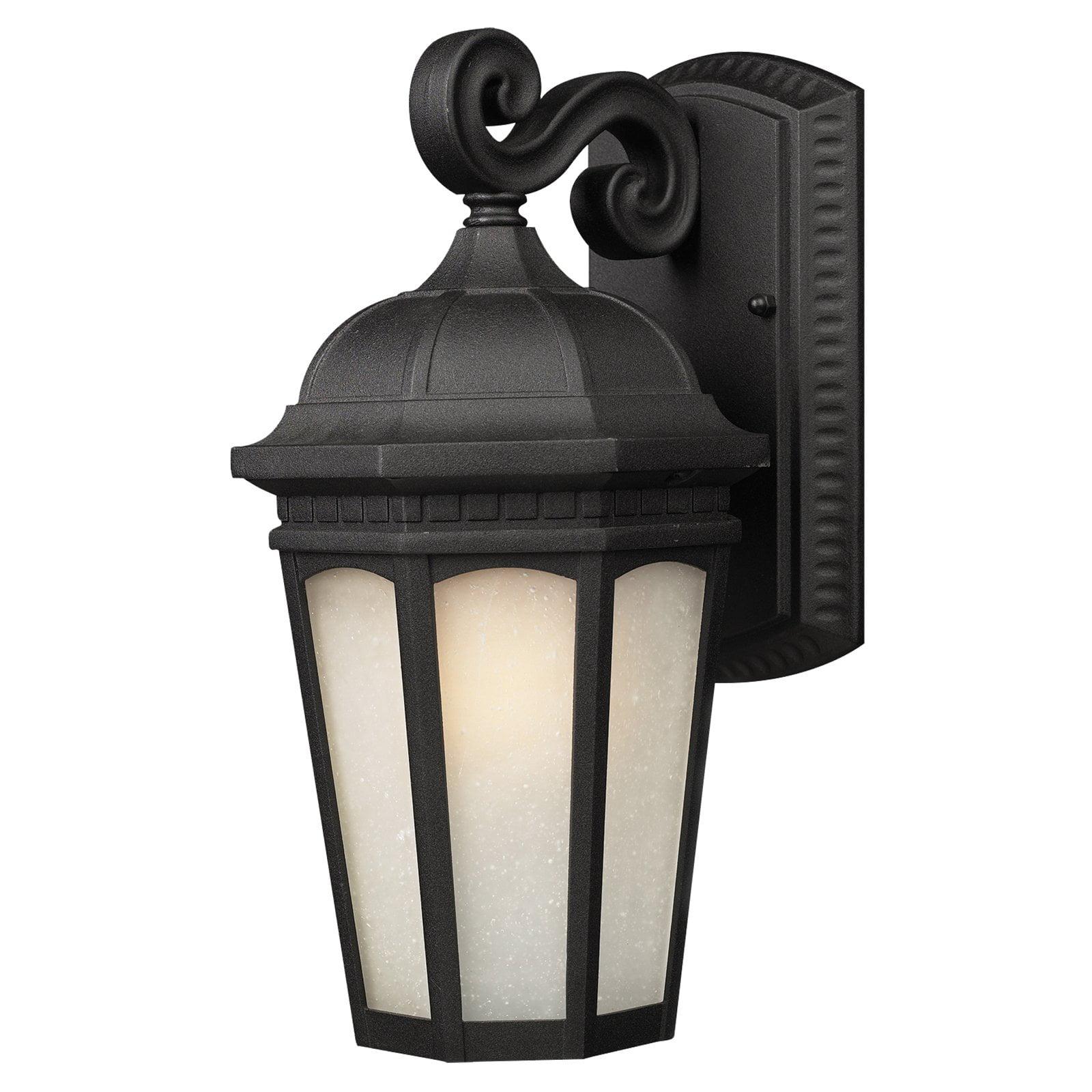 Z-Lite Newport Outdoor Wall Light in Black