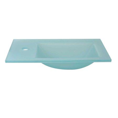 Mini Wall Mount Sink : Mini Glass Counter Top Wall Mount Sink Kids Bathroom Renovators ...