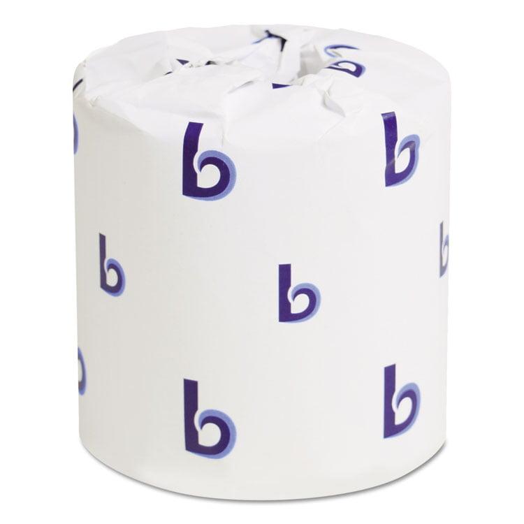 Office Packs Standard Bathroom Tissue, 2-Ply, White, 500 Sheets/rl, 48 Rolls/ct