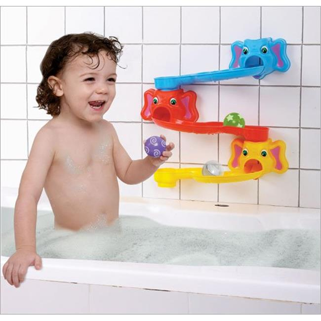 Rolliphant Slides Baby Bath Toy by Toyopia