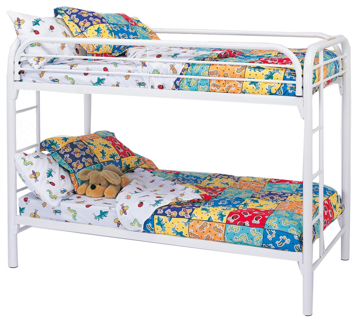 Fordham Twin/Twin Bunk Bed-Color:White