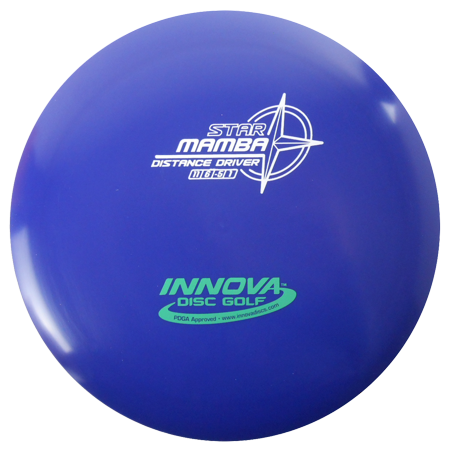 Innova Star Mamba 165-169g Distance Driver Golf Disc [Colors may vary] - 165-169g