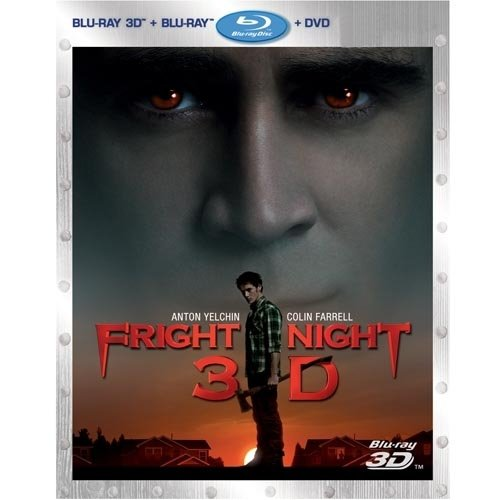 Fright Night (Blu-ray 3D + Blu-ray + DVD) (Widescreen)