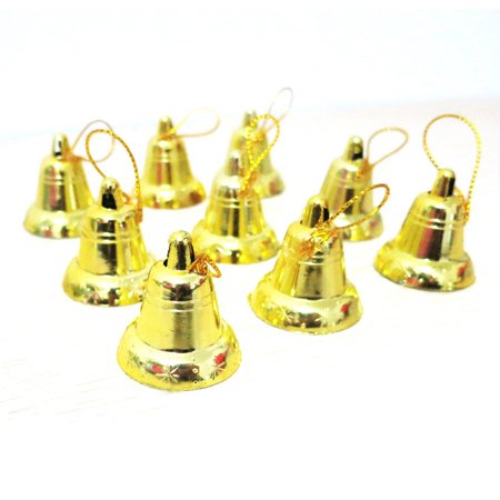 9Pcs Christmas Tree Hanging Bells Jingle Pendant Party Decoration Ornaments - Jingle Bells For Sale