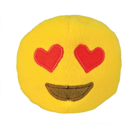 Emoji Beanbag, Heart Eyes