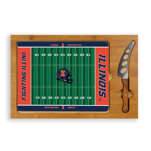 TOSCANA NCAA Football Icon Cutting Cheese Tray