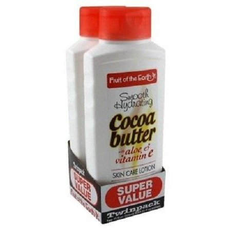 Fruit Of The Earth Bogo Lotion Cocoa Butter With Alo & Vit-E 11 Ounce -