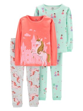 40e9cf85d10 Product Image Long Sleeve T-Shirt and Pant Cotton Pajama Bundle