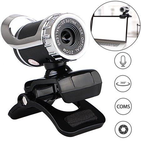 - EEEKit USB 2.0 Webcam Clip-on,12.0 Megapixels Digital Video HD Web Camera with Built-in Sound Absorption Microphone for Desktop PC Laptop Skype