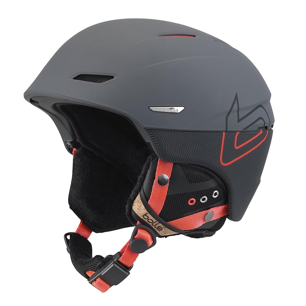 Bolle Winter Millenium Soft Grey & Orange Knit 61-63cm 31510 Ski Helmet by Bolle