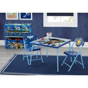 Disney/Pixar Toy Story 4 4-Piece Toddler Playroom Set by Delta Children - Includes Table & 2 Chair Set and Multi-Bin Toy Organizer