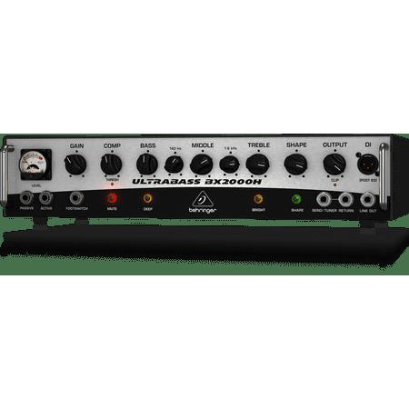 Behringer Ultrabass Class-D Bass Amplifier w/ Mosfet Preamp, Compressor and Dynamizer - 2000 Watt