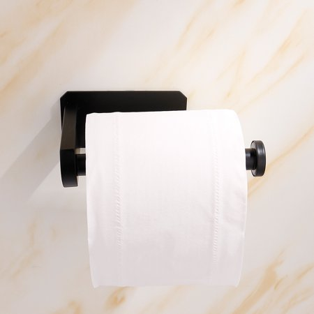 Homeholiday Stainless Steel Toilet Paper Roll Holder Home Hotel Bathroom Wall Mounted Paper Towel Tissue Stand Rack - image 6 of 7