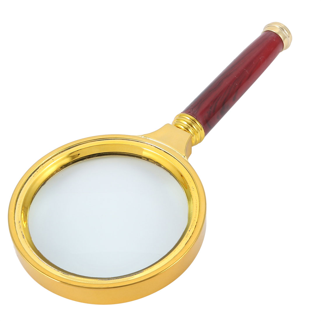 Handheld Magnifier Magnifying Glass Reading Glass Illuminated Magnifier 10X