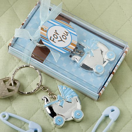 50 Blue Baby Carriage Design Key Chains Baby Carriage Key Chains