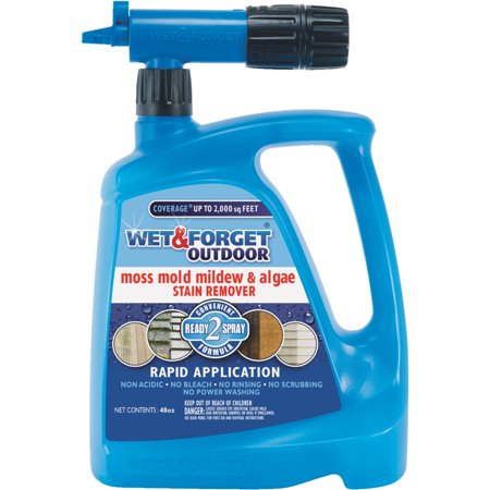 Wet & Forget Outdoor Hose End Rapid Application 48oz