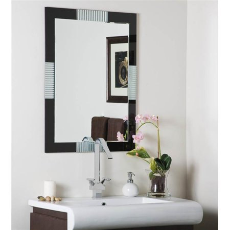 Francisco Large Frameless Wall Mirror ()