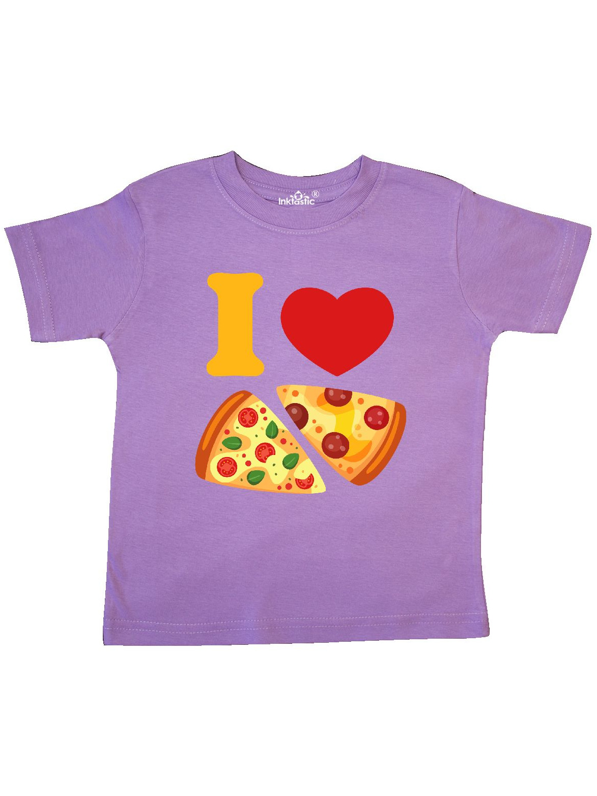I Love Pizza Toddler T-Shirt
