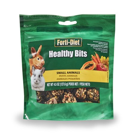 (2 Pack) Forti-Diet Healthy Bits Small Animals Treat, 4.5 OZ (Guinea Pig Halloween Treats)
