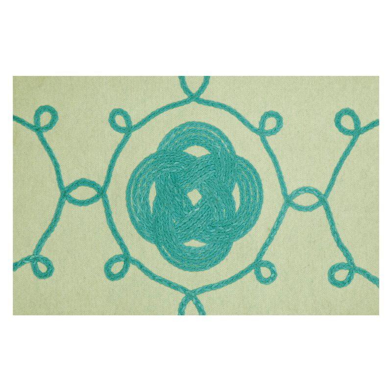 Trans Ocean Import Co Liora Manne Ornamental Knot Indoor Outdoor Doormat by Supplier Generic