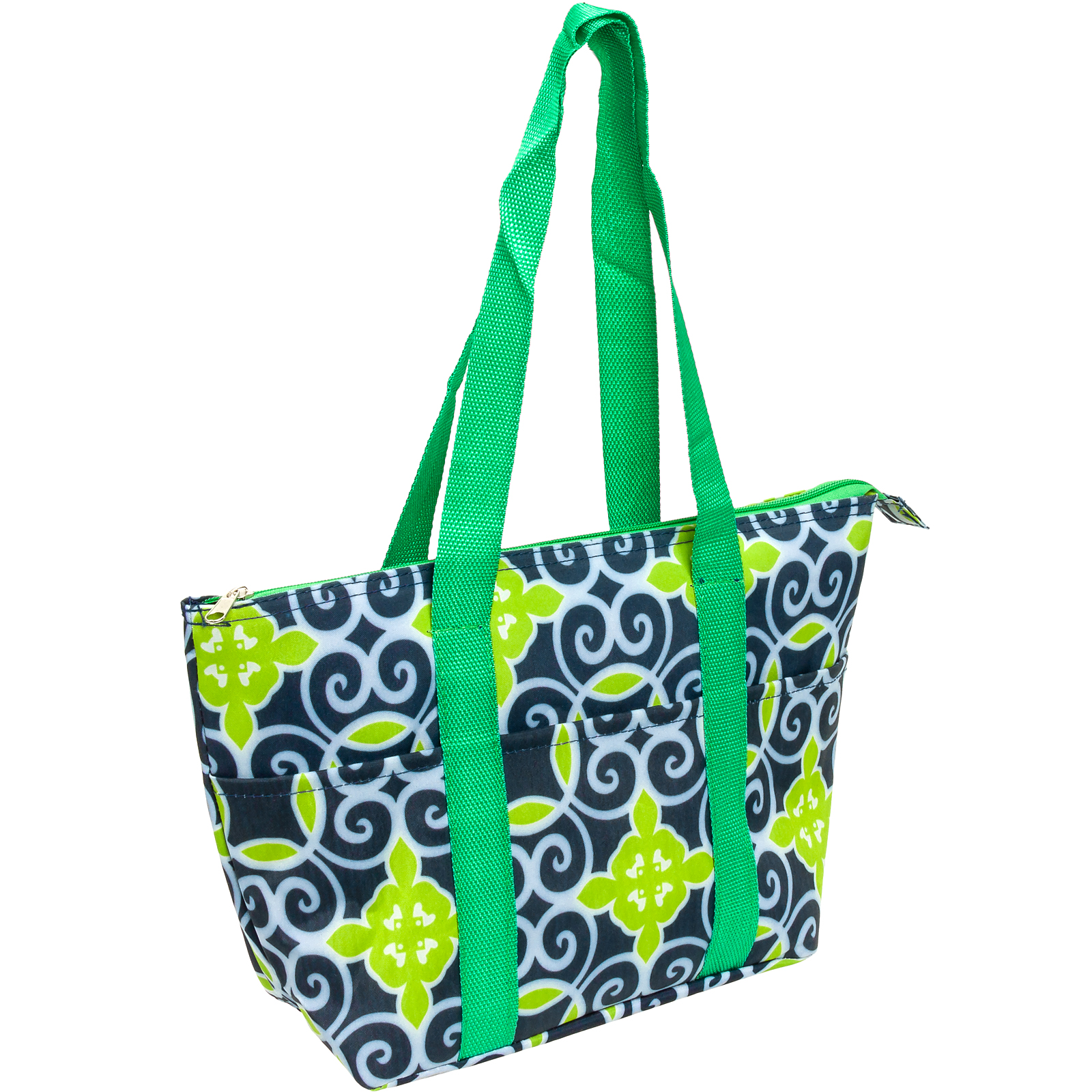 SILVERHOOKS NEW Womens Nylon Insulated Lunch Tote Bag Box