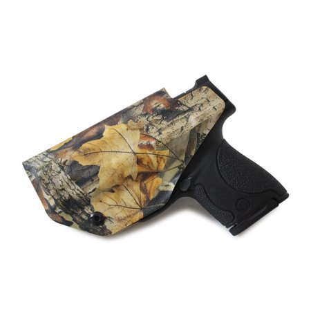 Concealment Express: RealTree Advantage Timber KYDEX IWB Gun Holster (Left, S&W J-Frame 442/642)