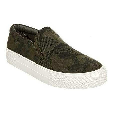 women's steve madden gills slip on platform - Animal Print Platform Shoes