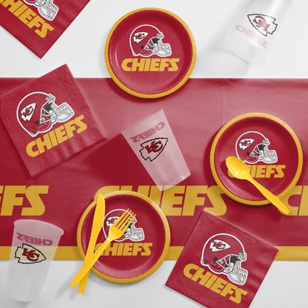 Kansas City Chiefs Tailgating Kit - Party City Products