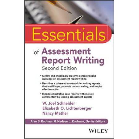 Essentials of Assessment Report Writing ()