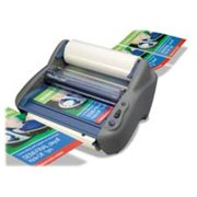General Binding Corporation GBC1701680 Roll Film Laminator- 12in.- 120 Vac- Adjust Temp- 60Hz- Blue-Gray