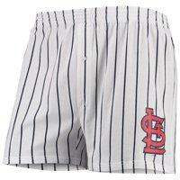 St. Louis Cardinals Concepts Sport Vigor Boxer Shorts - White
