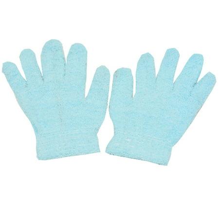 Gold Medal Girls Blue Solid Color Soft Texture Winter Gloves](Blue Fishnet Gloves)