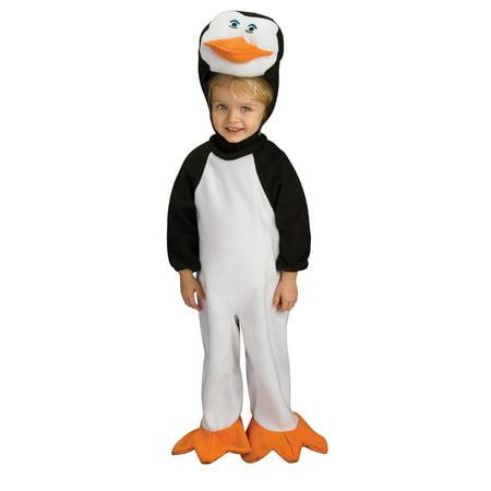 Penguins Of Madagascar Romper Skipper Baby Costume 0-6 Months - image 1 of 1