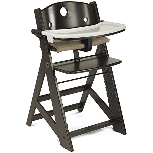 Keekaroo Height Right High Chair with Tray, Espresso
