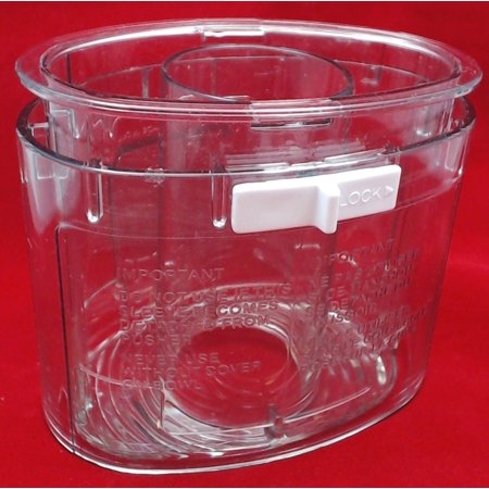 Cuisinart Food Processor Large Food Pusher with Sleeve, DLC-018BGTX-1