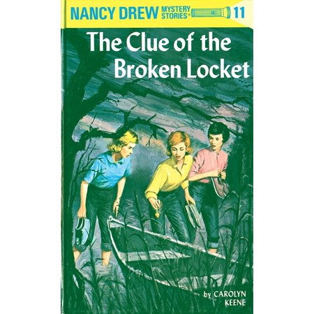Nancy Drew 11: the Clue of the Broken Locket (Halloween Nancy Drew)