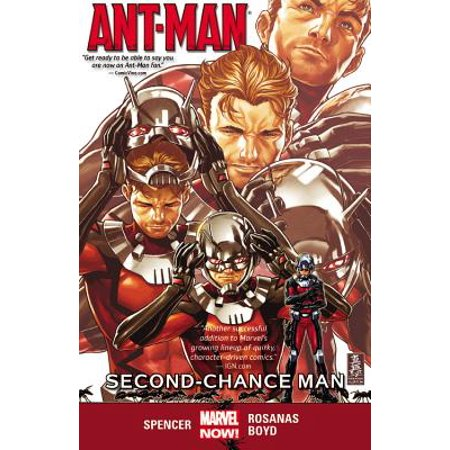 Ant-Man Vol. 1 : Second-Chance Man (Ant Man Vol 1 Second Chance Man)