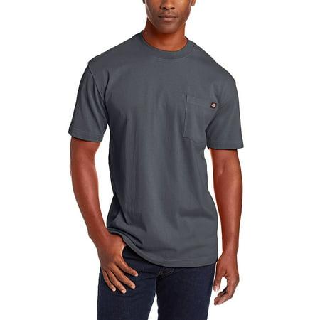 6307e0488f0 Dickies Mens Short Sleeve Heavyweight Crew Neck